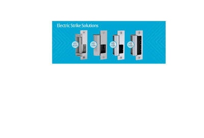 Electric Strikes for every type of lockset application